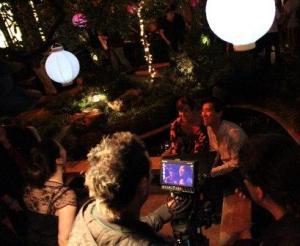 Filming at Fusion Friday!