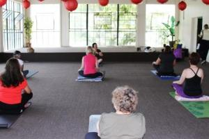 Yoga at Pacific Asia Museum