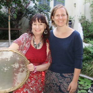 Poet Kathabela and PAM Curator of Education Amelia