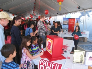 Visitors at the 2011 Lunar New Year Festival