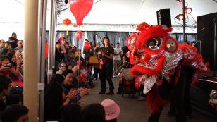Lion Dance at 2011 Festival